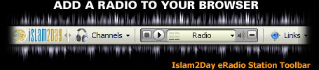 Islam2Day eRadio Station Toolbar...